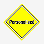 Personalised Car Signs from Car Signs Direct