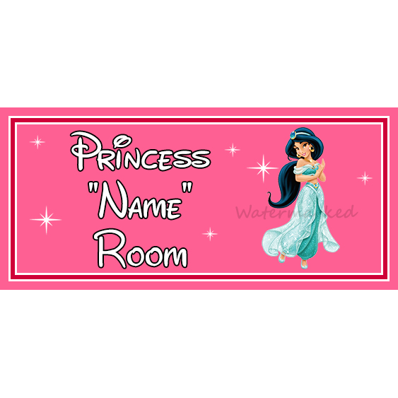 Tiana From Princess /& The Frog Personalised Disney Princess On Board Car Sign