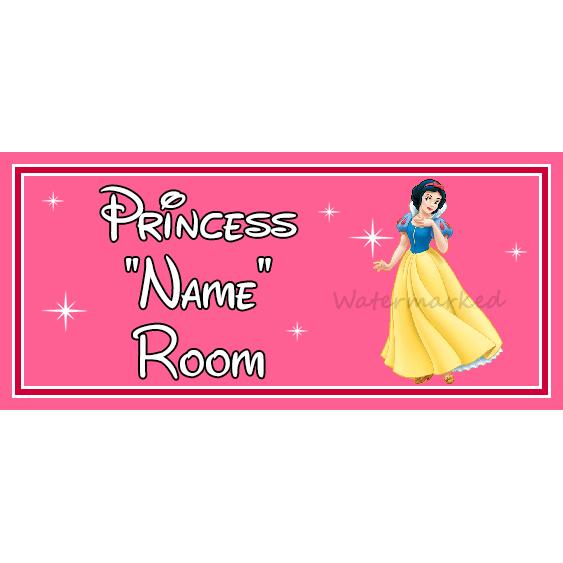 Pocahontas Personalised Disney Princess Kids Bedroom Door Sign