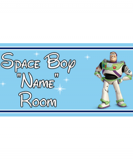 Disney Bedroom Sign Buzz Lightyear