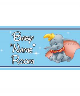 Disney Bedroom Sign Dumbo