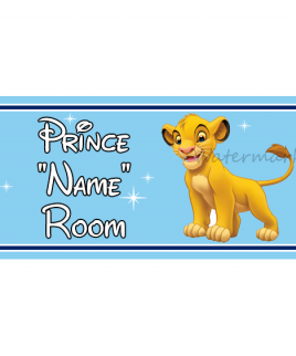 Disney Bedroom Sign Simba
