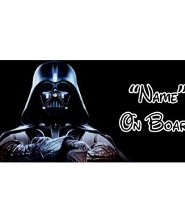 Star Wars 3 On Board Car Sign
