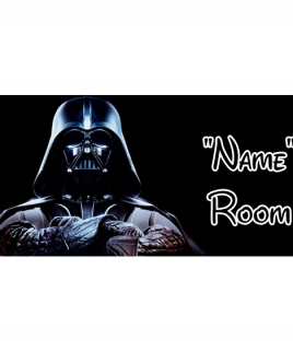 Star Wars 3 Bedroom Sign