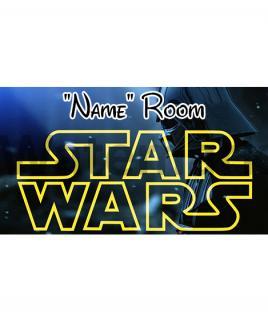 Star Wars 5 Bedroom Sign