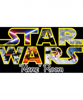 Star Wars 6 Bedroom Sign