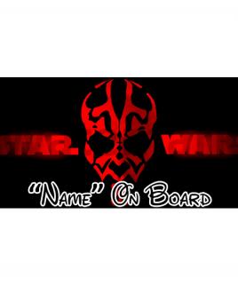 Star Wars 7 On Board Car Sign