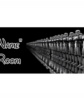 Star Wars 8 Bedroom Sign