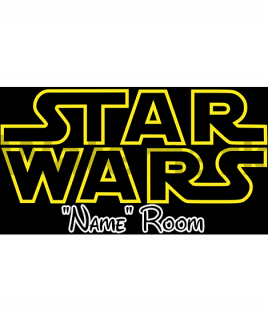 Star Wars Bedroom Sign