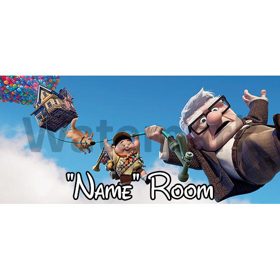 UP 3 Bedroom Sign