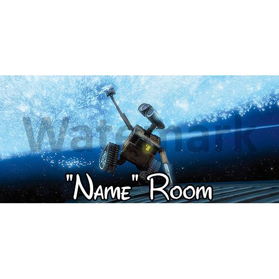 WallE 3 Bedroom Sign