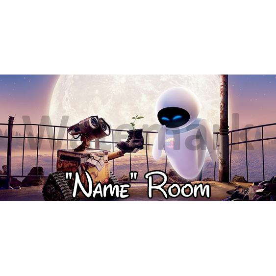WallE Bedroom Sign