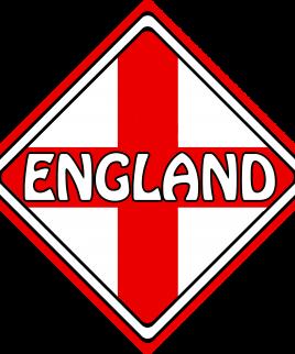 England Car Sign