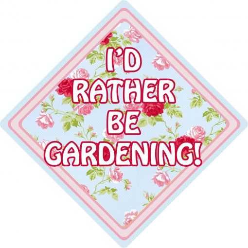 Id Rather be Gardening Floral