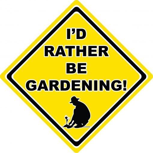 Id Rather be Gardening Man