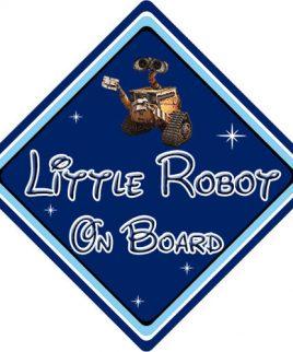 Baby On Board Car Sign Disney Pixar Wall-E