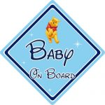 Disney Baby On Board Car Sign - Winnie The Pooh