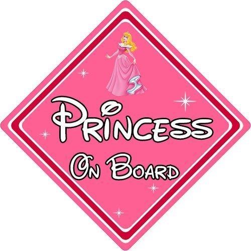 Disney-Princess-On-Board-Car-Sign-Aurora-From-Sleeping-Beauty-152124879566