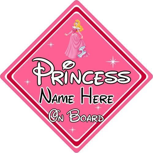 Personalised-Disney-Princess-On-Board-Car-Sign-Aurora-From-Sleeping-Beauty-152125170896
