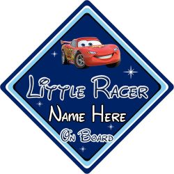 All Personalised Boys Car Signs Car Signs Direct - Cars sign and names