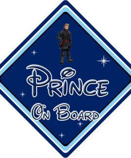 Baby On Board Car Sign Disney Pixar Frozen Kristoff